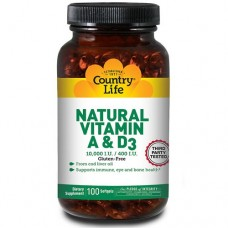 Country Life Natural Vitamin A
